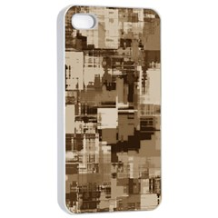 Color Abstract Background Textures Apple Iphone 4/4s Seamless Case (white) by Nexatart