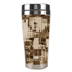 Color Abstract Background Textures Stainless Steel Travel Tumblers by Nexatart