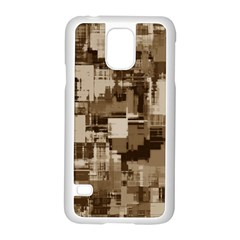 Color Abstract Background Textures Samsung Galaxy S5 Case (white)