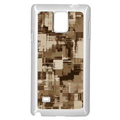 Color Abstract Background Textures Samsung Galaxy Note 4 Case (white)