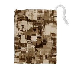 Color Abstract Background Textures Drawstring Pouches (extra Large)