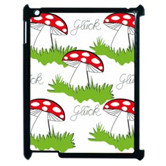 Mushroom Luck Fly Agaric Lucky Guy Apple Ipad 2 Case (black)