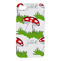 Mushroom Luck Fly Agaric Lucky Guy Apple Iphone 4/4s Hardshell Case