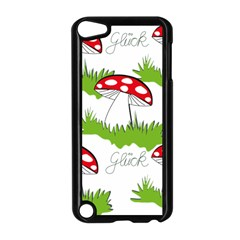 Mushroom Luck Fly Agaric Lucky Guy Apple Ipod Touch 5 Case (black)