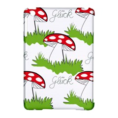 Mushroom Luck Fly Agaric Lucky Guy Apple Ipad Mini Hardshell Case (compatible With Smart Cover) by Nexatart