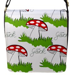 Mushroom Luck Fly Agaric Lucky Guy Flap Messenger Bag (s)