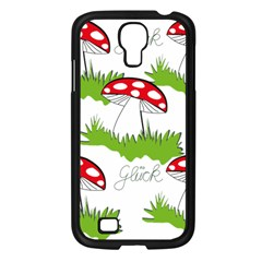 Mushroom Luck Fly Agaric Lucky Guy Samsung Galaxy S4 I9500/ I9505 Case (black) by Nexatart