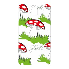 Mushroom Luck Fly Agaric Lucky Guy Samsung Galaxy Note 3 N9005 Hardshell Back Case by Nexatart