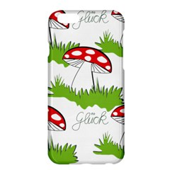 Mushroom Luck Fly Agaric Lucky Guy Apple Iphone 6 Plus/6s Plus Hardshell Case by Nexatart