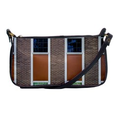 Pattern Symmetry Line Windows Shoulder Clutch Bags by Nexatart