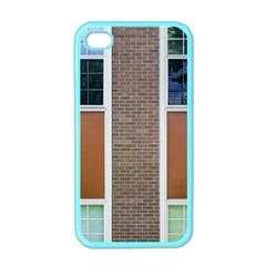 Pattern Symmetry Line Windows Apple Iphone 4 Case (color)
