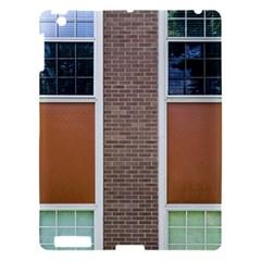 Pattern Symmetry Line Windows Apple Ipad 3/4 Hardshell Case by Nexatart