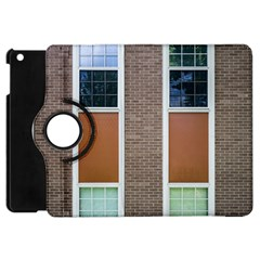 Pattern Symmetry Line Windows Apple Ipad Mini Flip 360 Case by Nexatart