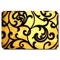 Texture Pattern Beautiful Bright Large Doormat