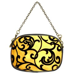 Texture Pattern Beautiful Bright Chain Purses (two Sides)  by Nexatart
