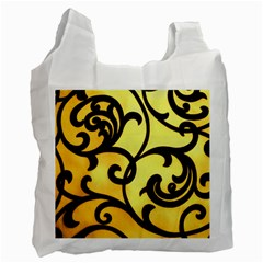 Texture Pattern Beautiful Bright Recycle Bag (two Side)  by Nexatart