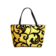 Texture Pattern Beautiful Bright Shoulder Handbags by Nexatart