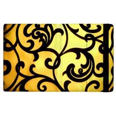 Texture Pattern Beautiful Bright Apple Ipad 3/4 Flip Case by Nexatart