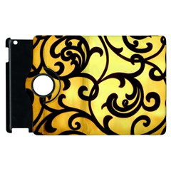 Texture Pattern Beautiful Bright Apple Ipad 3/4 Flip 360 Case by Nexatart