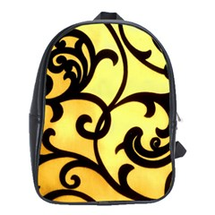Texture Pattern Beautiful Bright School Bags (xl)  by Nexatart