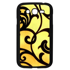 Texture Pattern Beautiful Bright Samsung Galaxy Grand Duos I9082 Case (black)