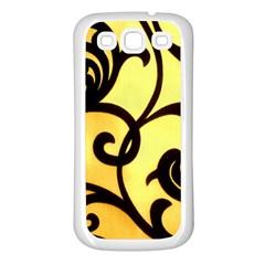Texture Pattern Beautiful Bright Samsung Galaxy S3 Back Case (white)