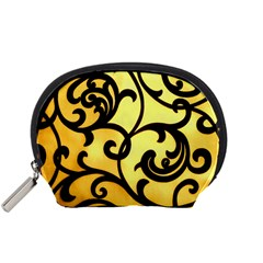 Texture Pattern Beautiful Bright Accessory Pouches (small)