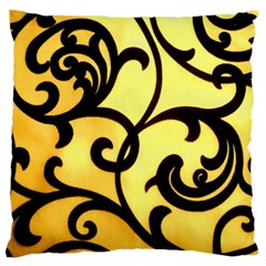 Texture Pattern Beautiful Bright Large Flano Cushion Case (two Sides) by Nexatart