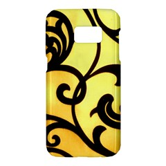 Texture Pattern Beautiful Bright Samsung Galaxy S7 Hardshell Case  by Nexatart