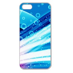 Bi Pride Apple Seamless iPhone 5 Case (Clear) by TailWags