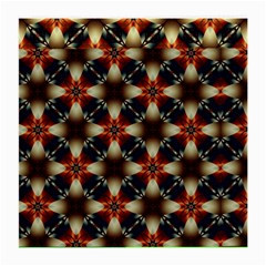 Kaleidoscope Image Background Medium Glasses Cloth (2 Side)