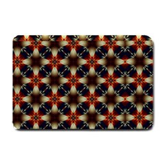 Kaleidoscope Image Background Small Doormat  by Nexatart