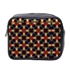 Kaleidoscope Image Background Mini Toiletries Bag 2 Side by Nexatart