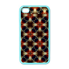 Kaleidoscope Image Background Apple Iphone 4 Case (color)