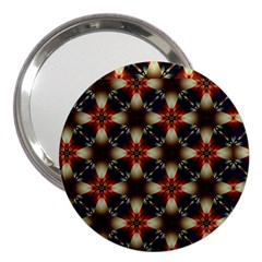 Kaleidoscope Image Background 3  Handbag Mirrors