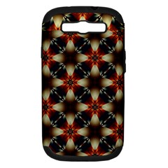 Kaleidoscope Image Background Samsung Galaxy S Iii Hardshell Case (pc+silicone) by Nexatart