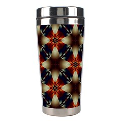 Kaleidoscope Image Background Stainless Steel Travel Tumblers