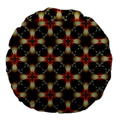Kaleidoscope Image Background Large 18  Premium Flano Round Cushions by Nexatart
