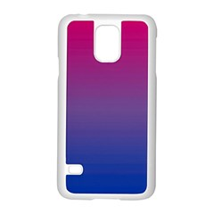 Bi Rainbow Samsung Galaxy S5 Case (White) by TailWags