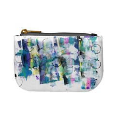 Background Color Circle Pattern Mini Coin Purses