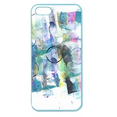 Background Color Circle Pattern Apple Seamless Iphone 5 Case (color) by Nexatart