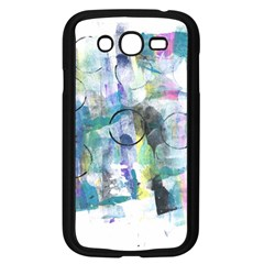 Background Color Circle Pattern Samsung Galaxy Grand Duos I9082 Case (black)