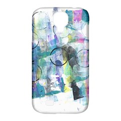 Background Color Circle Pattern Samsung Galaxy S4 Classic Hardshell Case (pc+silicone)
