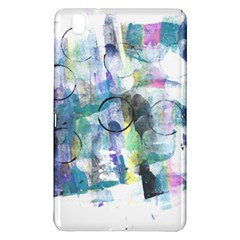Background Color Circle Pattern Samsung Galaxy Tab Pro 8 4 Hardshell Case
