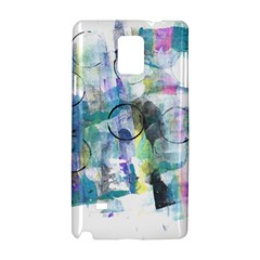 Background Color Circle Pattern Samsung Galaxy Note 4 Hardshell Case by Nexatart
