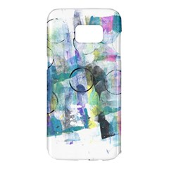 Background Color Circle Pattern Samsung Galaxy S7 Edge Hardshell Case