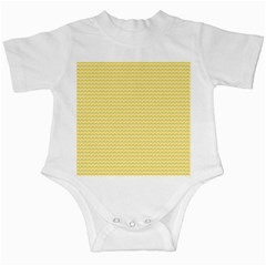 Pattern Yellow Heart Heart Pattern Infant Creepers