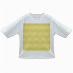 Pattern Yellow Heart Heart Pattern Infant/Toddler T-Shirts