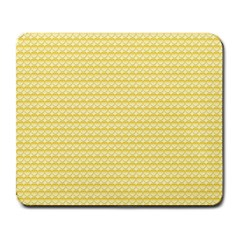 Pattern Yellow Heart Heart Pattern Large Mousepads