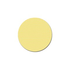 Pattern Yellow Heart Heart Pattern Golf Ball Marker